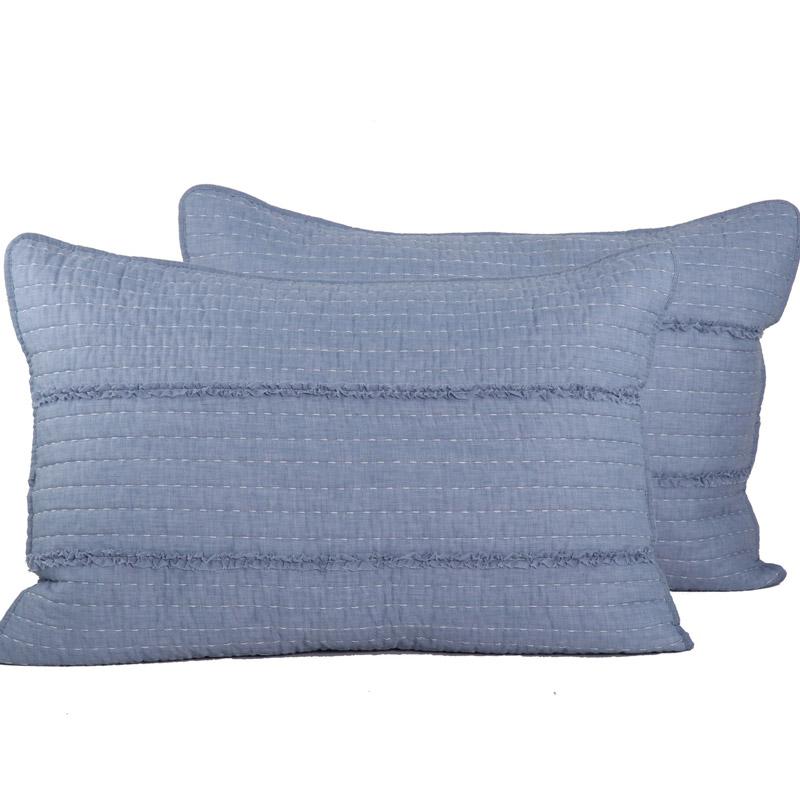 Μαξιλαροθήκες Ζεύγος 52X72 Nef Nef Blue Blazen (52×72)