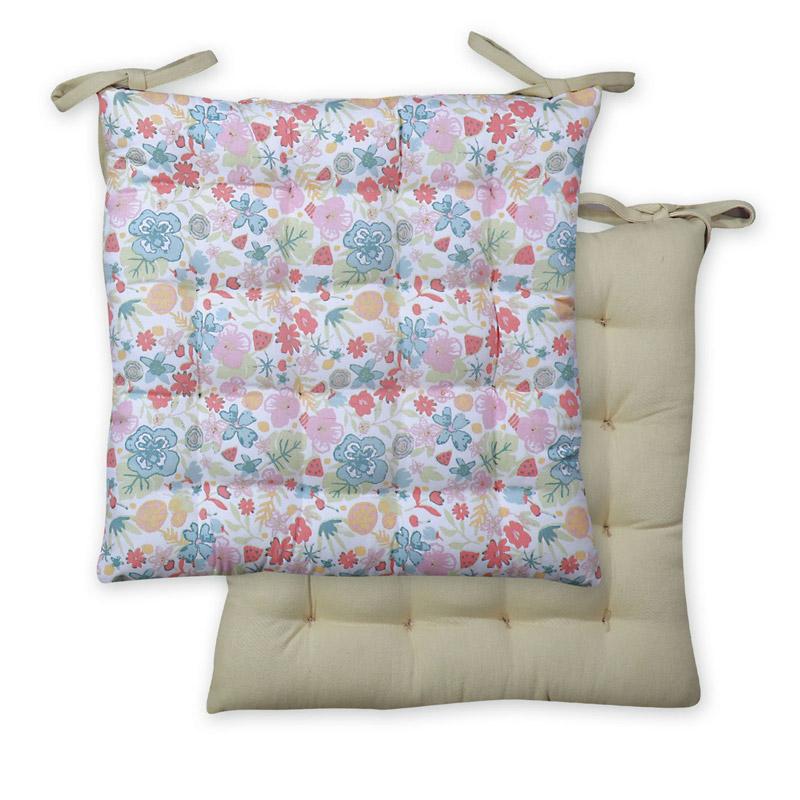 Μαξιλάρι Καρέκλας 40×40 Nef Nef Veila