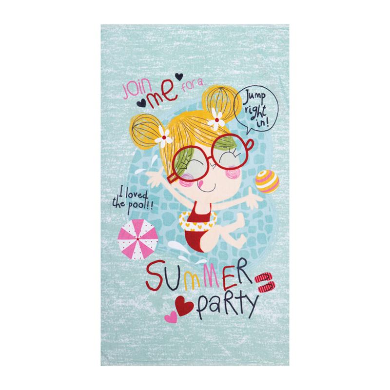 Παιδική Πετσέτα Θαλάσσης 70×120 Nef Nef Summer Party