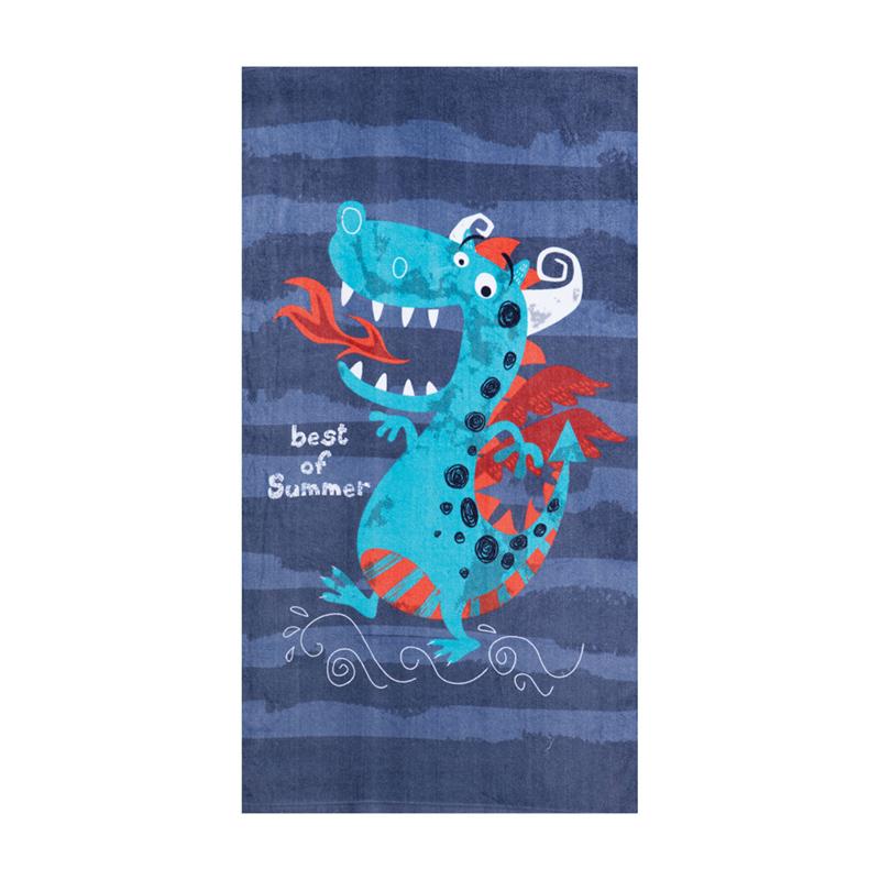 Παιδική Πετσέτα Θαλάσσης 70×120 Nef Nef Beach Dragon
