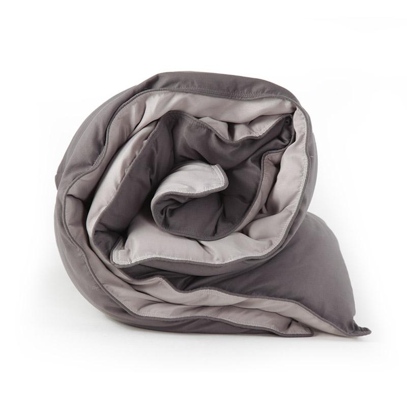 Πάπλωμα Υπέρδιπλο 2 Όψεων 240×220 Nef Nef Bicolor D.Grey-L.Grey