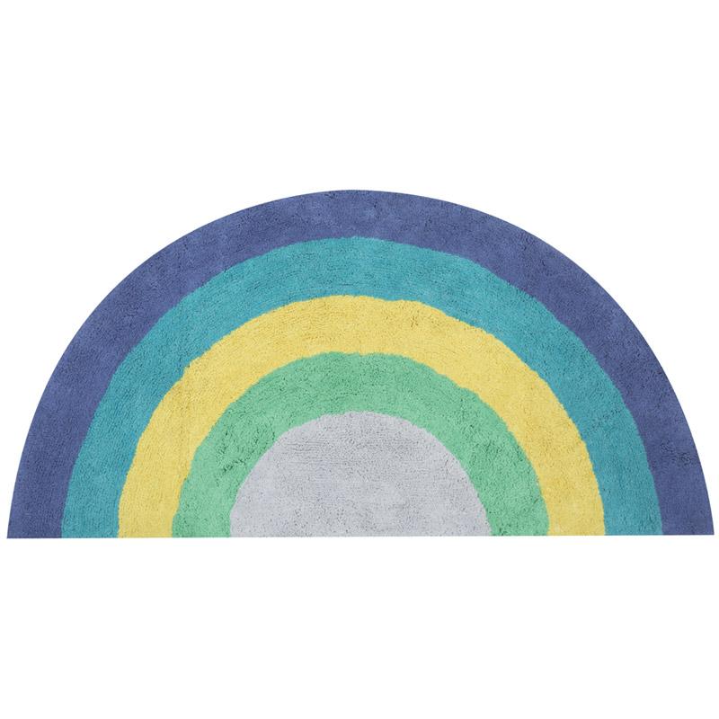 Παιδικό Χαλί 70×140 Nef Nef Rainbow Blue