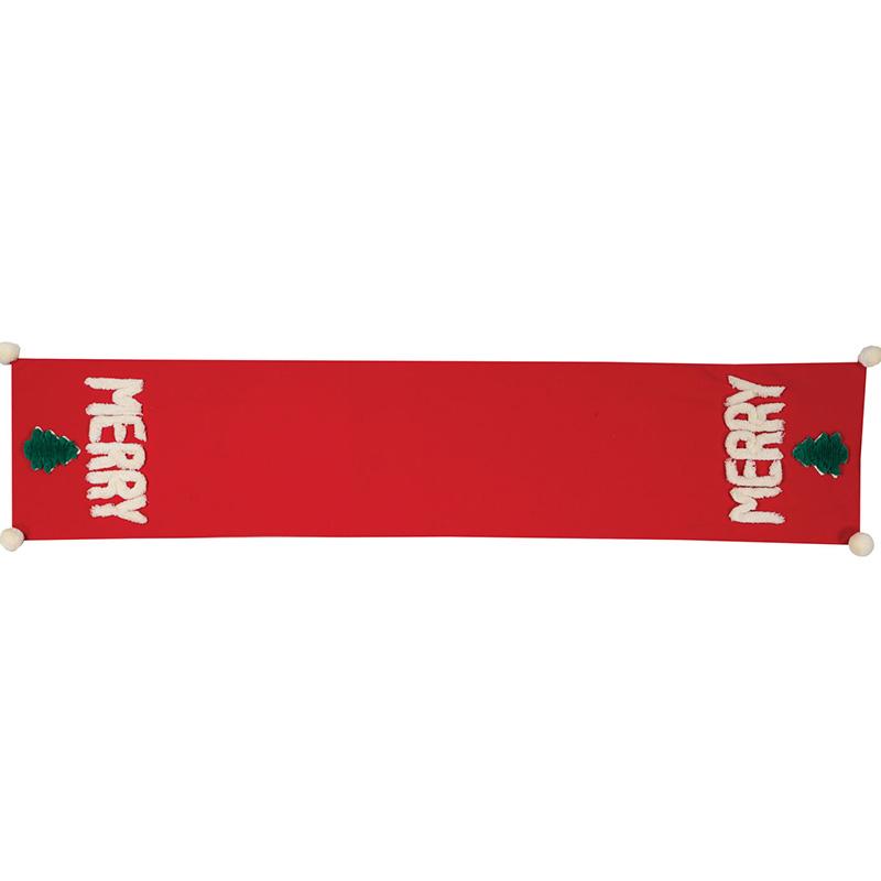 Χριστουγεννιάτικη Τραβέρσα 33x150 Nef Nef Merry Christmas 20 Red (33x150)