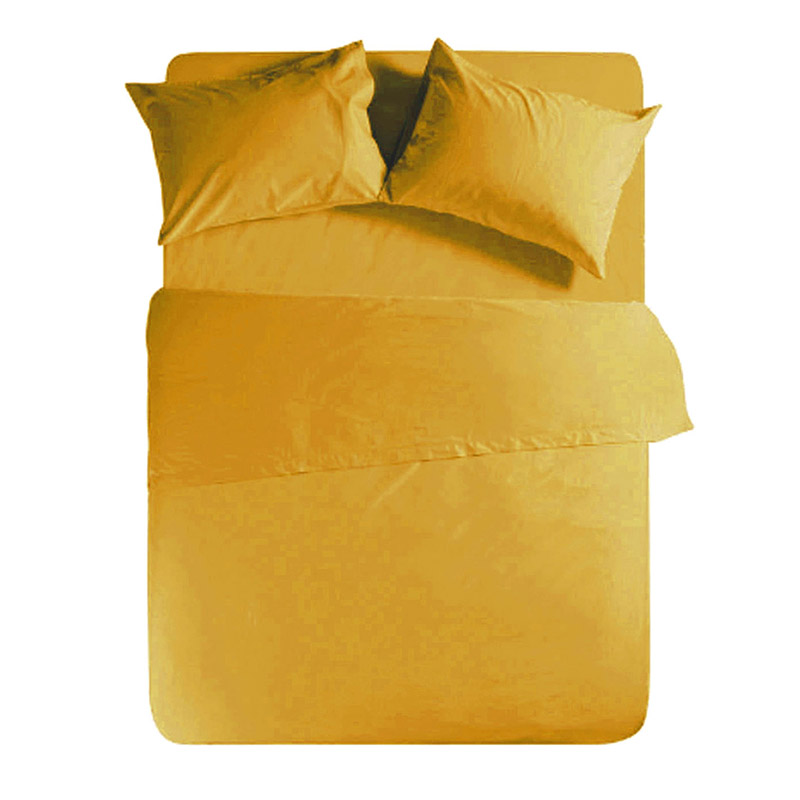 Σεντόνι Μεμονωμένο Μονό 170×270 Nef Nef Basic 1153-Yellow Χωρίς Λάστιχο