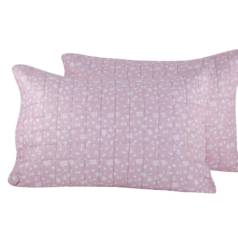 Μαξιλαροθήκες Ζεύγος 52×72 Nef Nef Botanic Pink (52×72)