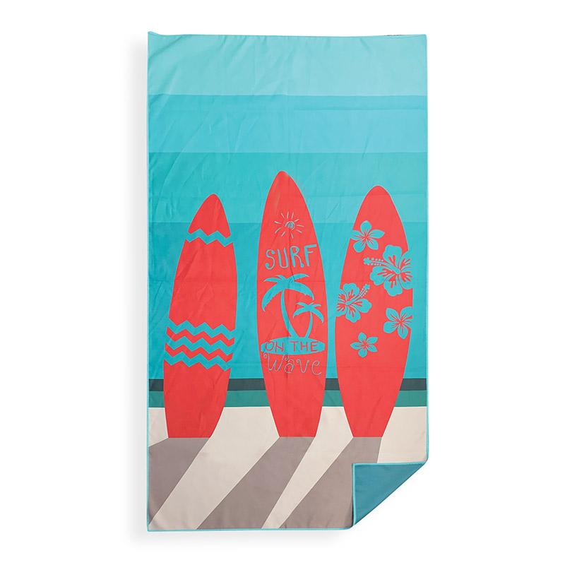 Πετσέτα Θαλάσσης 75X150 Nef Nef 3 Boards Aqua