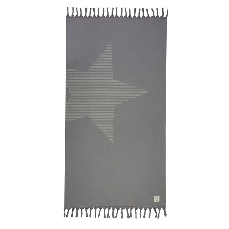 Πετσέτα Θαλάσσης 90X170 Nef Nef Fantasia Grey