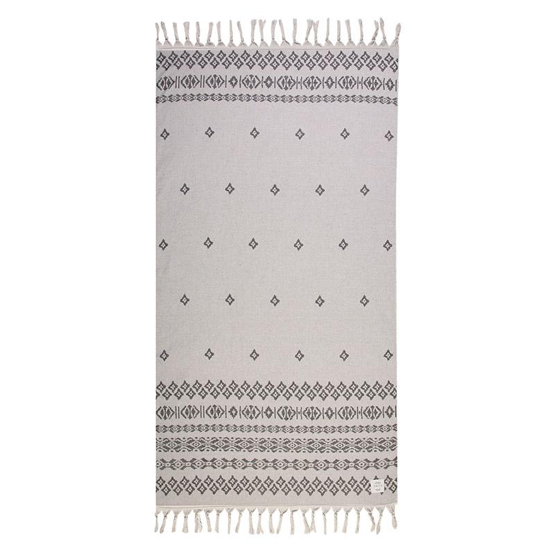 Πετσέτα Θαλάσσης 90X170 Nef Nef Expan Grey