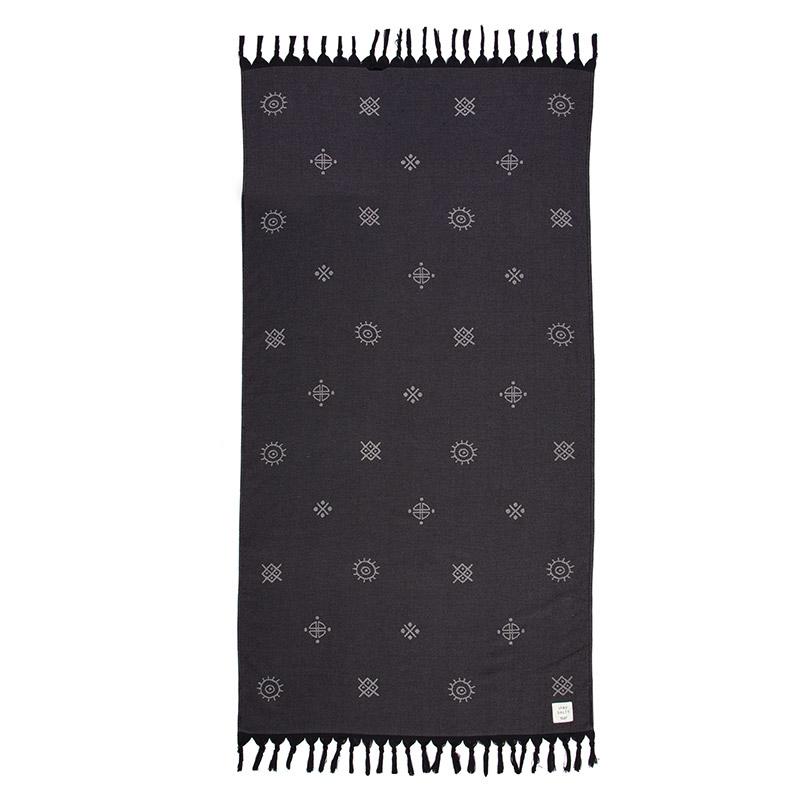 Πετσέτα Θαλάσσης 90X170 Nef Nef Scope Black