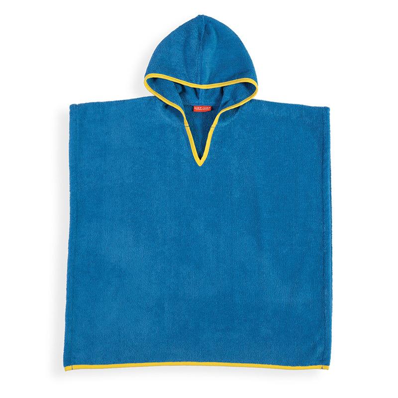 Poncho 60X120 Nef Nef Bono Blue