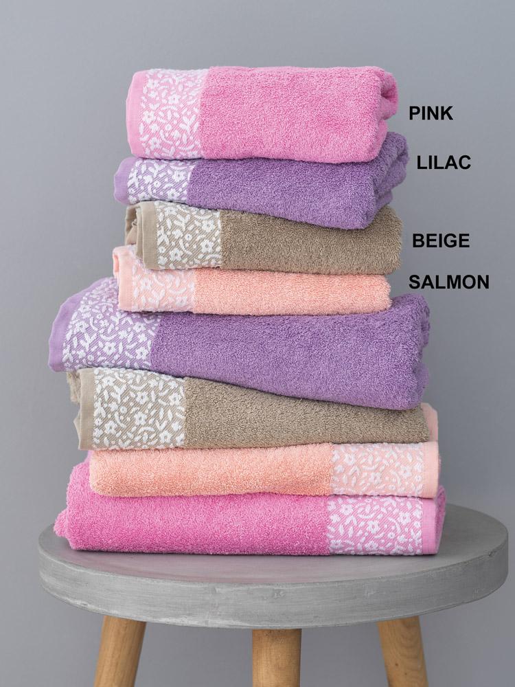 Πετσέτα Προσώπου 50X100 Palamaiki Primavera Lilac