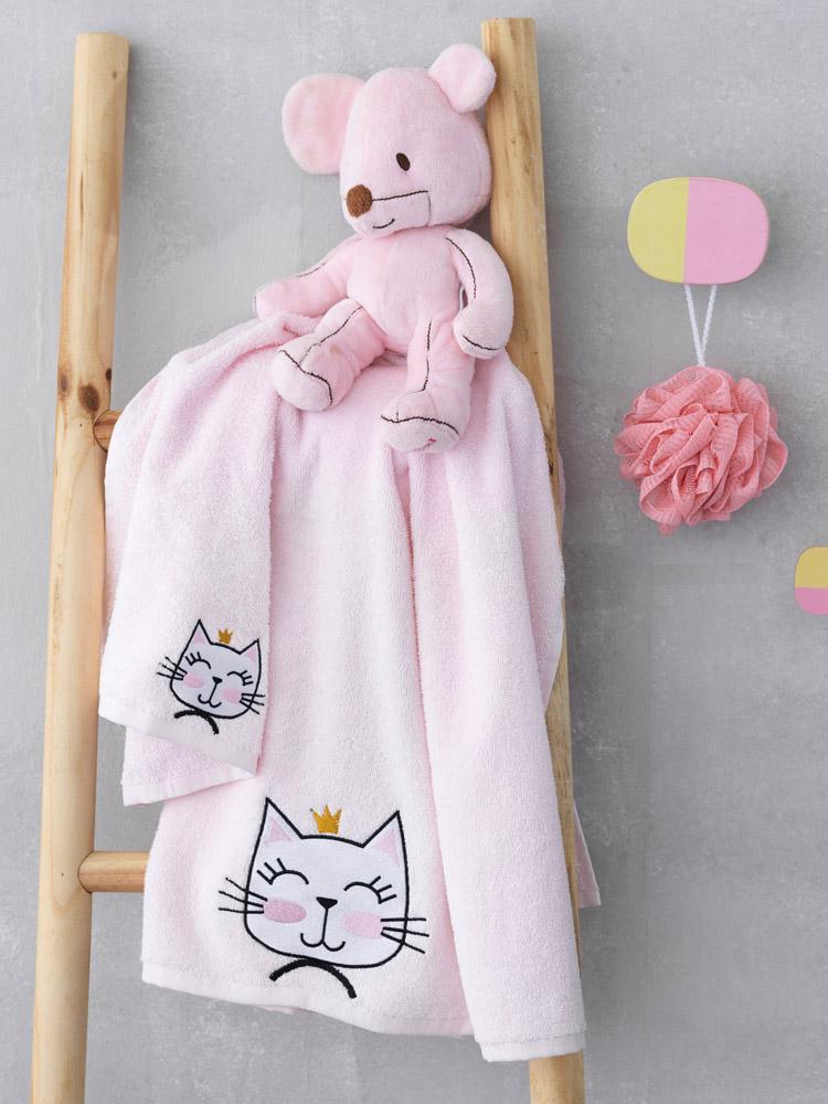 Παιδικές Πετσέτες (Σετ 2 Τμχ) Palamaiki Cat