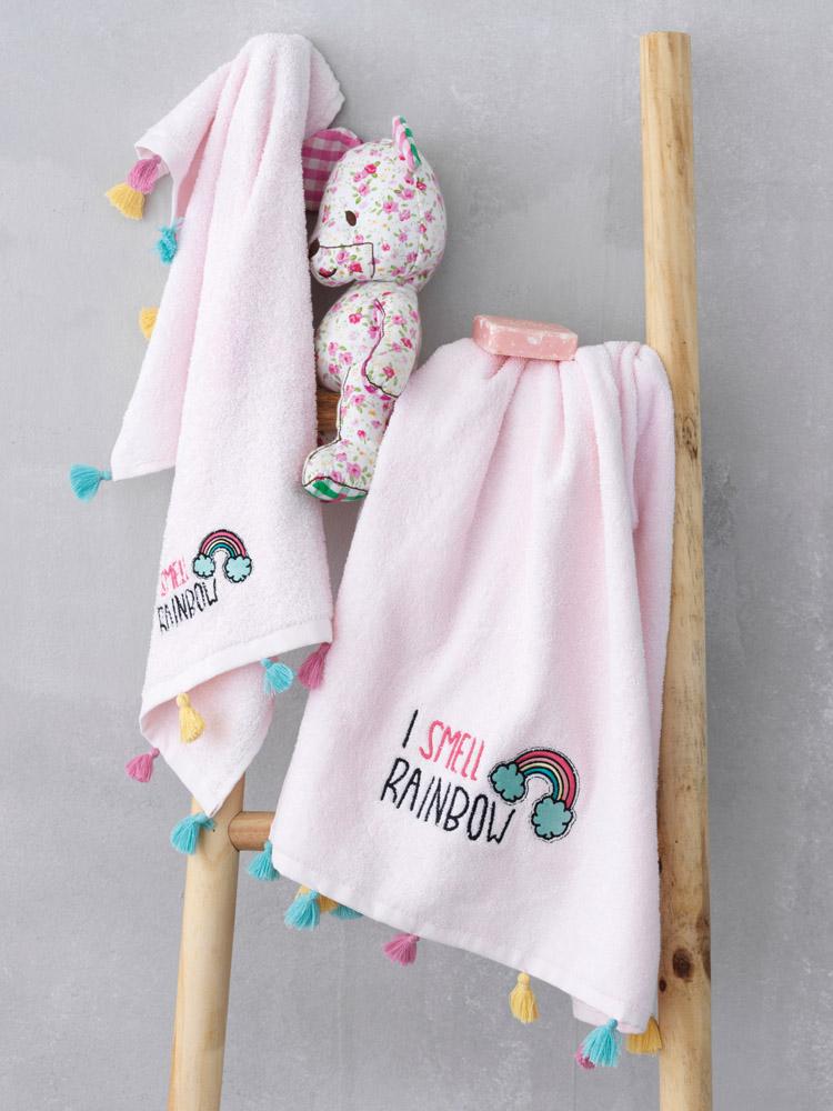 Παιδικές Πετσέτες (Σετ 2 Τμχ) Palamaiki Rainbow
