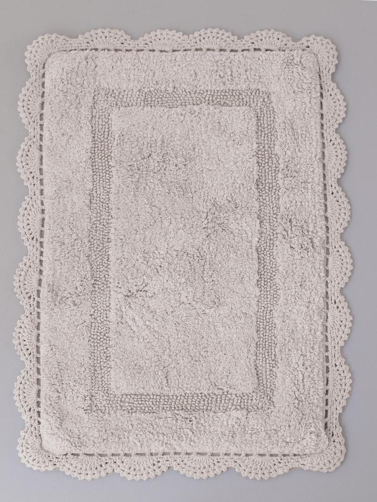 Πατάκι Μπάνιου 50X80 Palamaiki Sarah Silver