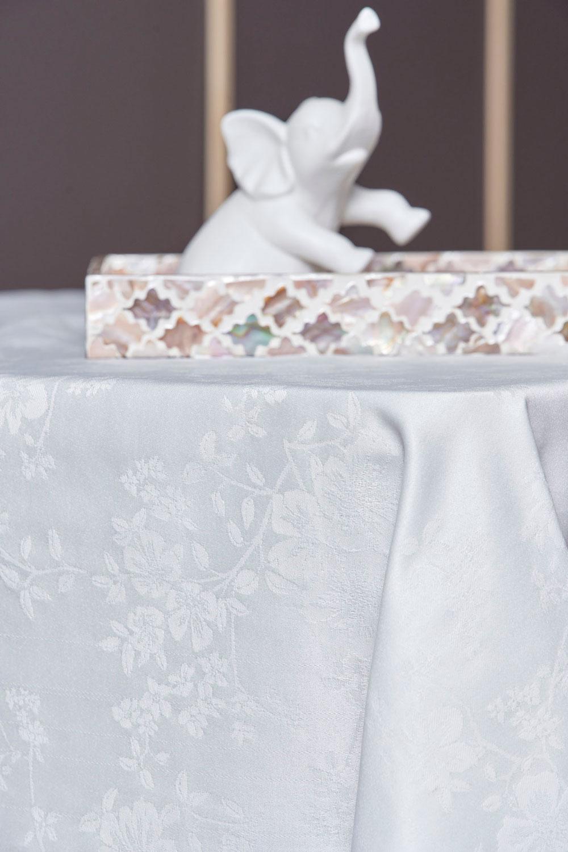 Τραπεζομάντηλο Αλέκιαστο 160X180 Palamaiki Formal Dinner Vino White