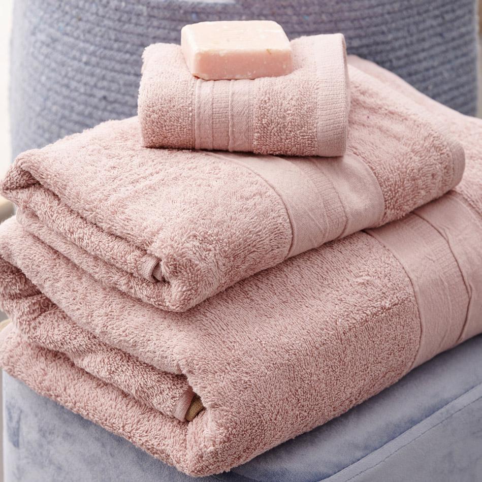 Πετσέτες Μπάνιου (Σετ 3 Τμχ) Palamaiki Bath Collection Cactus Pink