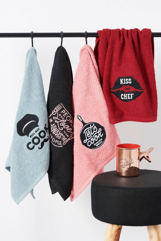 Πετσέτες Κουζίνας 40X60 (Σετ 2 Τμχ) Palamaiki Kitchen Towels Kt120