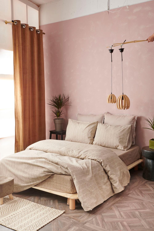 Φανελένια Σεντόνια Μονά (Σετ) 110X200+30 Palamaiki Flannel Beauty Fb0211 Με Λάστιχο