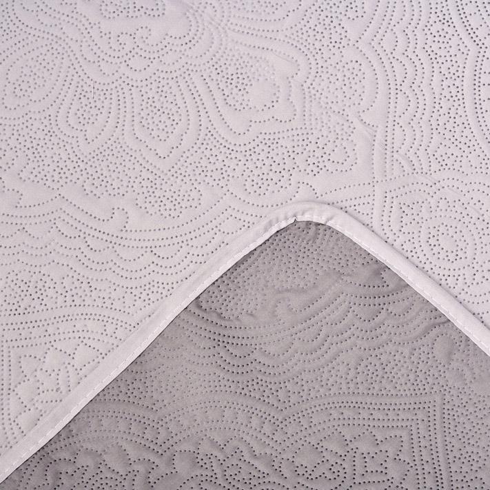 Κουβερλί Μονό 160X240 Palamaiki Cover Colletion Linden Grey