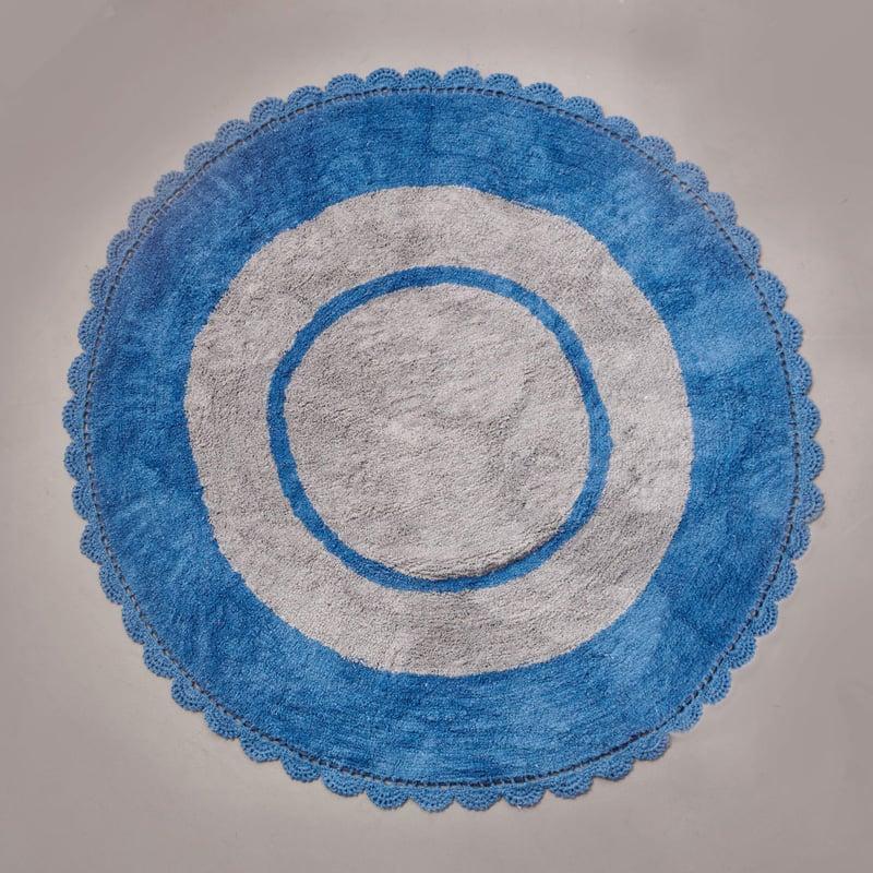Στρογγυλό Χαλί Φ140 Palamaiki Kids Decor Target Blue