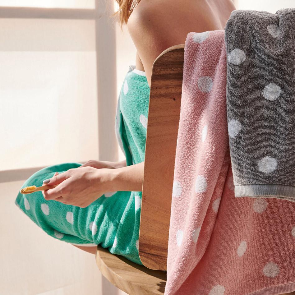 Πετσέτες Προσώπου (Σετ 2 Τμχ) 50X90 Palamaiki Bathroom Towel Paradise Grey