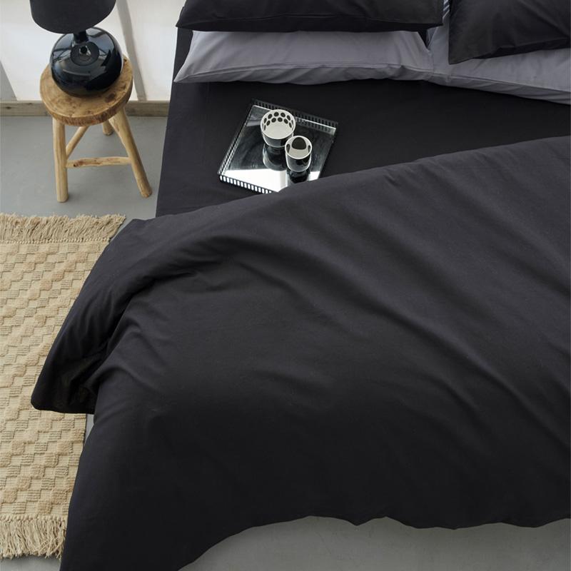 Σεντόνι Μεμονωμένο Μονό 110×200+30 Palamaiki Mix & Match Etoile Black Με Λάστιχο