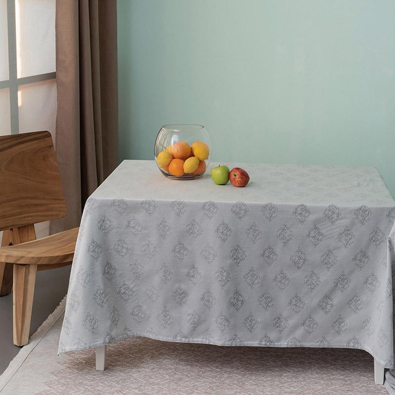 Αλέκιαστο Τραπεζομάντηλο 160X240 Palamaiki Formal Dinner Fteri Grey