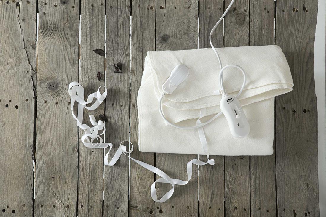 Ηλεκτρική Κουβέρτα Nima 70x150 λευκά είδη υπνοδωμάτιο ηλεκτρικές κουβέρτες ηλεκτρικές κουβέρτες μονές