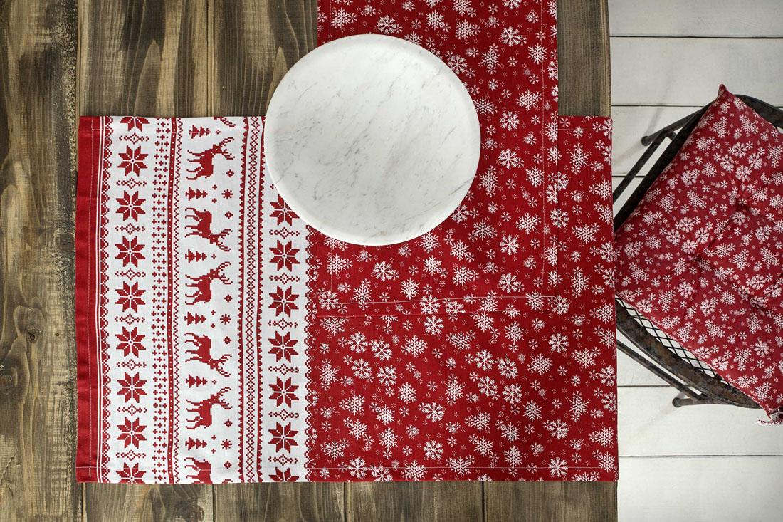 Τραπεζομάντηλο 150×150 Nima – Rudolph