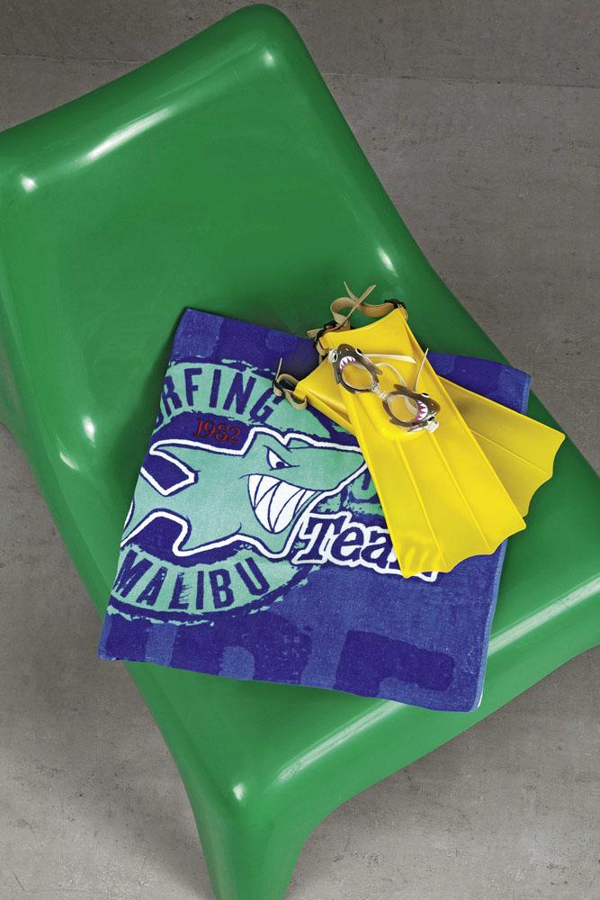 Πετσέτα Θαλάσσης 75x150 - Nima Surf Champs λευκά είδη μπάνιο θαλάσσης πετσέτες θαλάσσης ενηλίκων