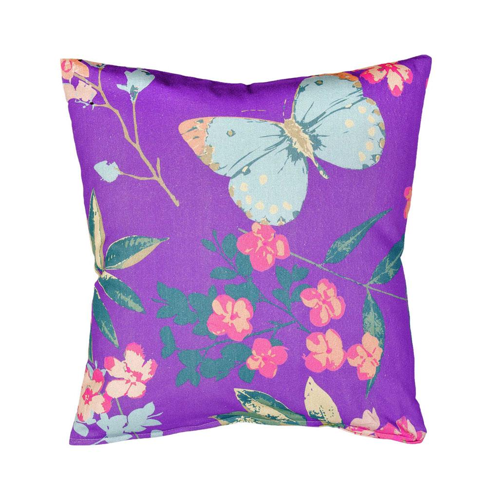 Διακοσμητική Μαξιλαροθήκη 45×45 – Nima Tahiti Purple
