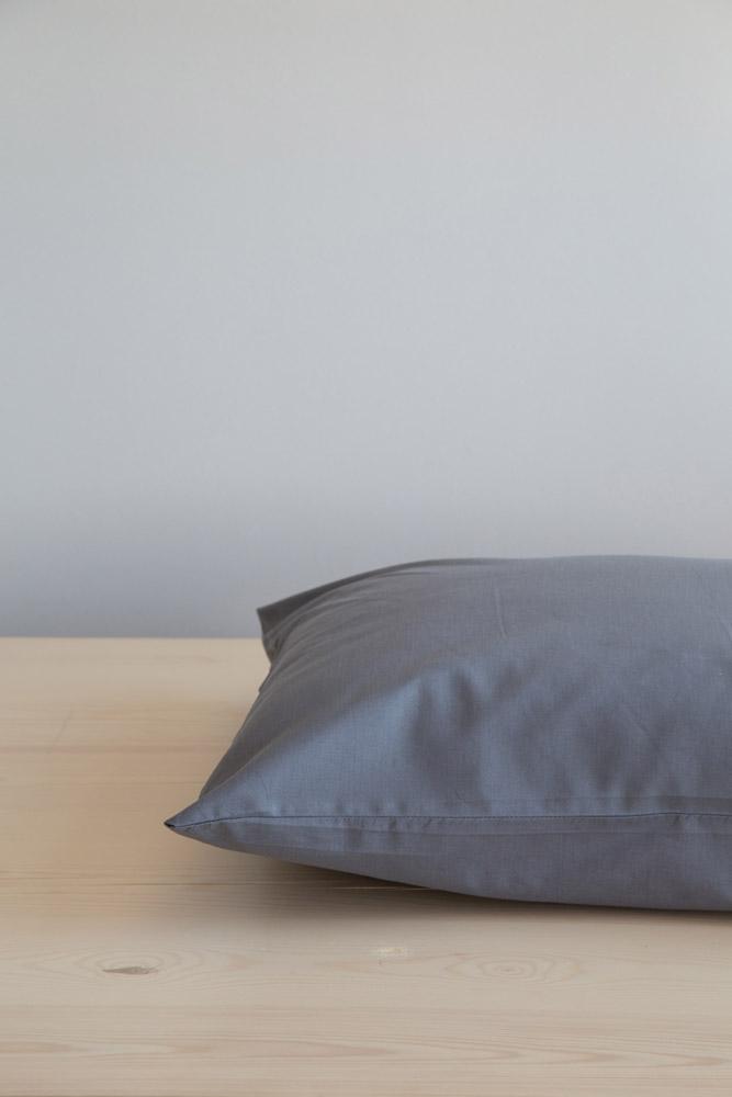 Σεντόνι Μονό Unicolors Nima – Dark Gray