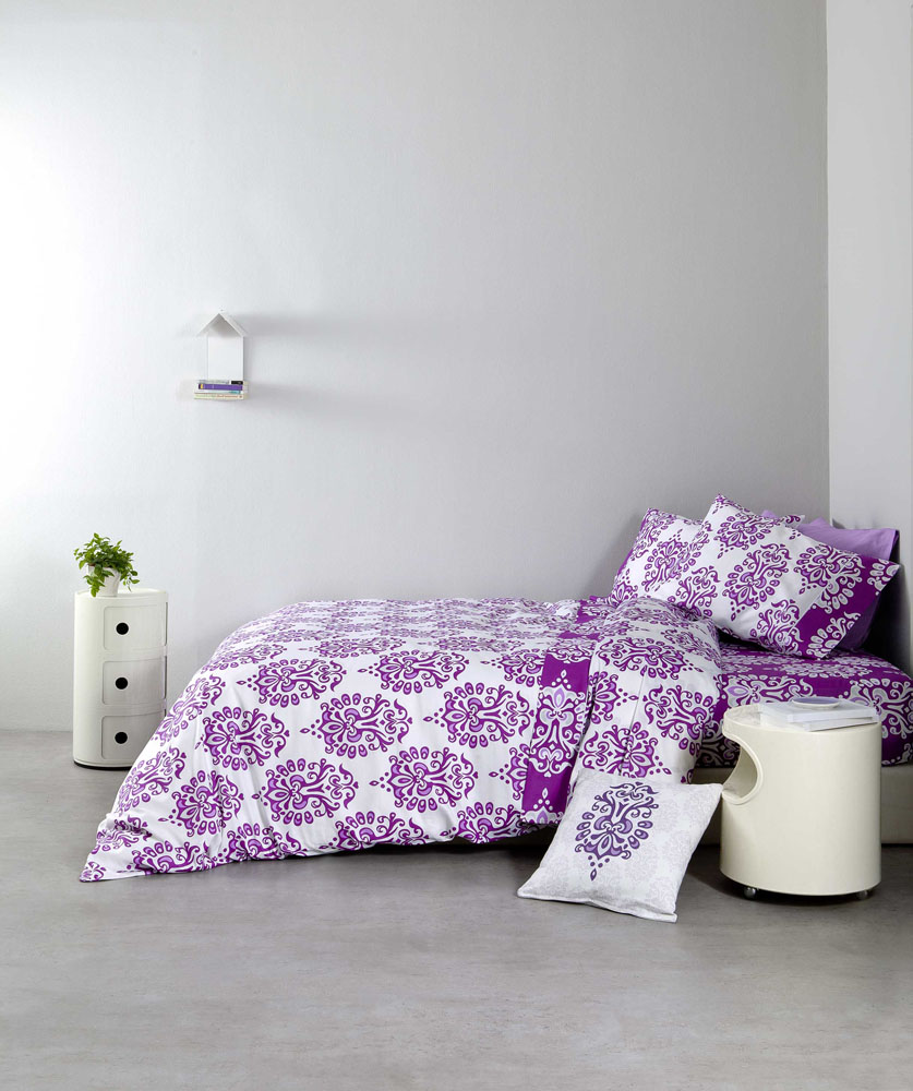 Σεντόνια (Σετ) Υπέρδιπλα – Nima Ariadne Purple