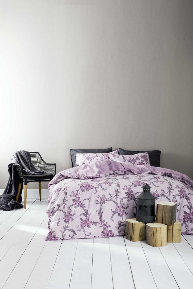Παπλωματοθήκη Υπέρδιπλη (Σετ) Nima – Segovia Purple