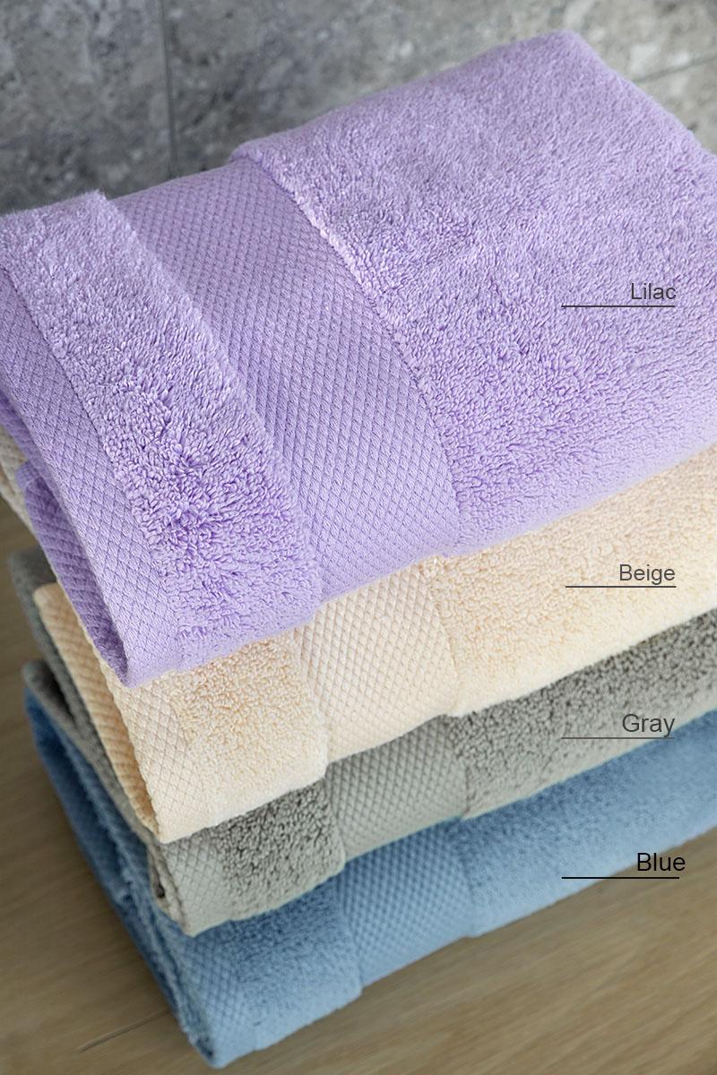 Πετσέτες Μπάνιου (Σετ 3τμχ) Medea Nima – Blue