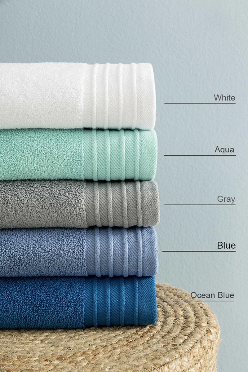 Πετσέτες Μπάνιου (Σετ 3τμχ) Feel Fresh Nima – Blue
