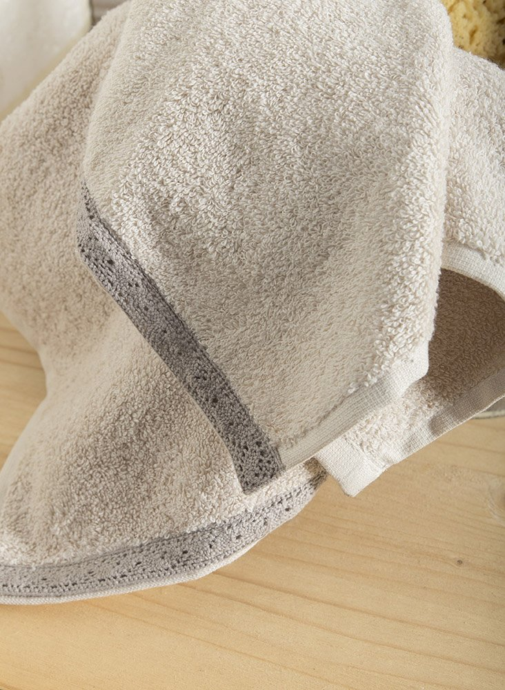 Πετσέτες Μπάνιου (Σετ 3 Τμχ) Nima – Cantata Ivory