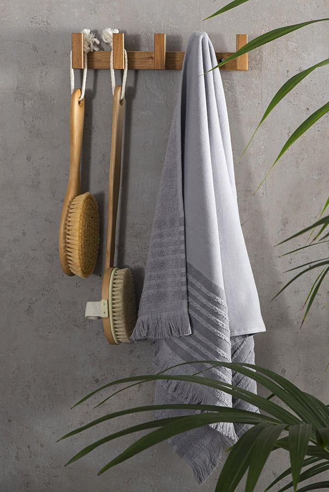 Πετσέτα Μπάνιου 90×150 Nima – Ray Gray