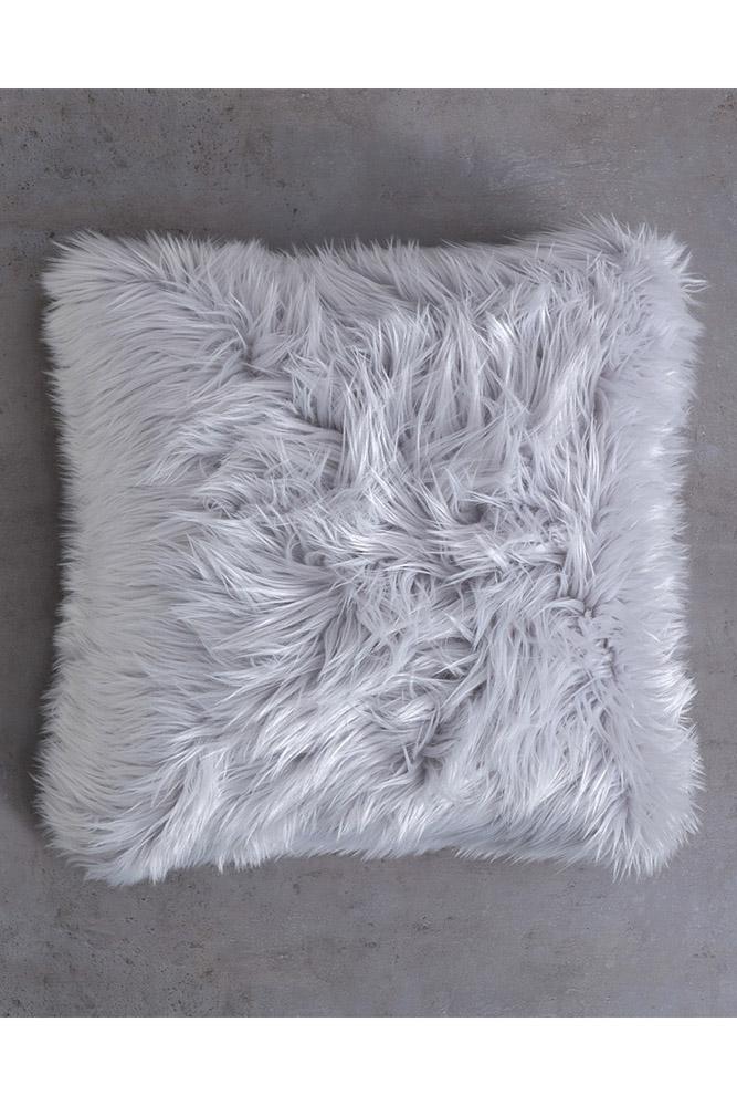 Διακοσμητικό Μαξιλάρι 45×45 Nima – Fluffy Gray