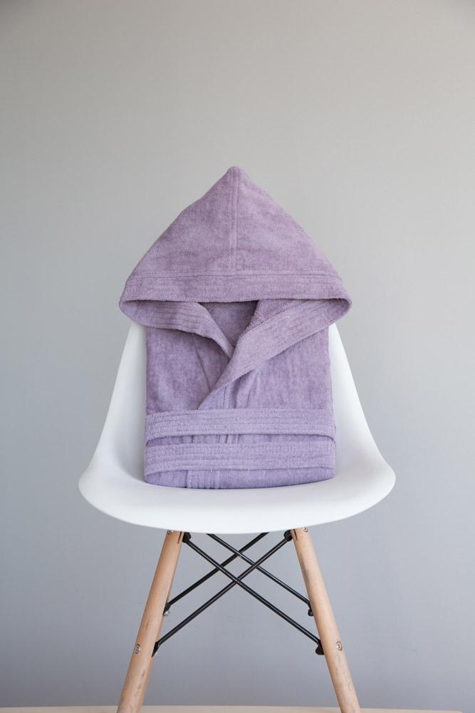 Μπουρνούζι με κουκούλα Zen – Large Nima – Lilac