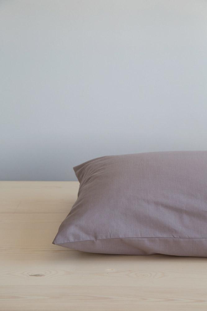 Σεντόνι Υπέρδιπλο με Λάστιχο Unicolors Nima – Dark Taupe