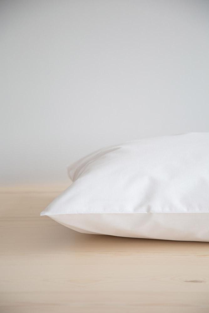 Σεντόνι Ημίδιπλο Unicolors Nima – White