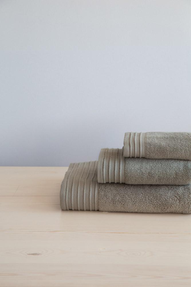 Πετσέτες Μπάνιου (Σετ 3 Τμχ)) Feel Fresh Nima – Green