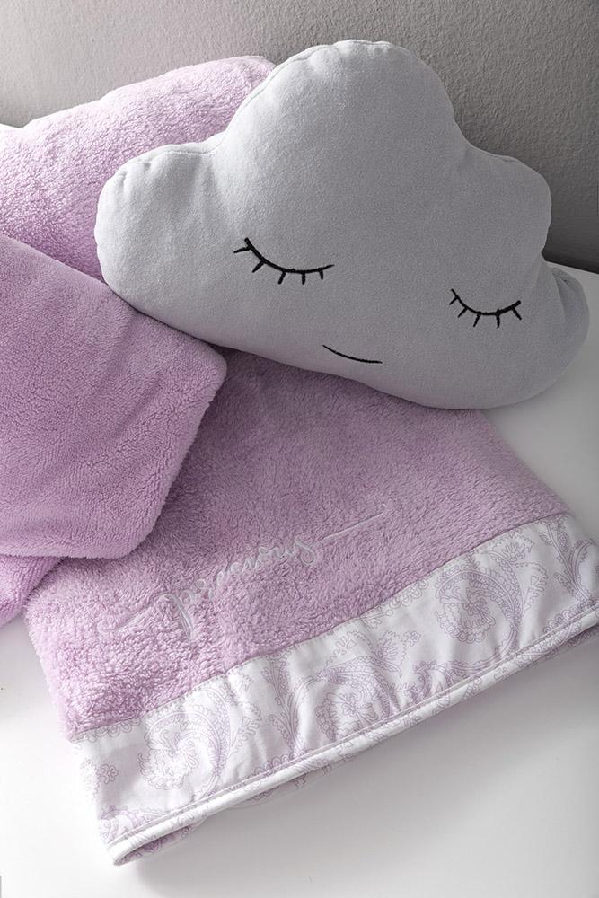Κουβέρτα Λίκνου Fleece 80×110 Nima – Precious