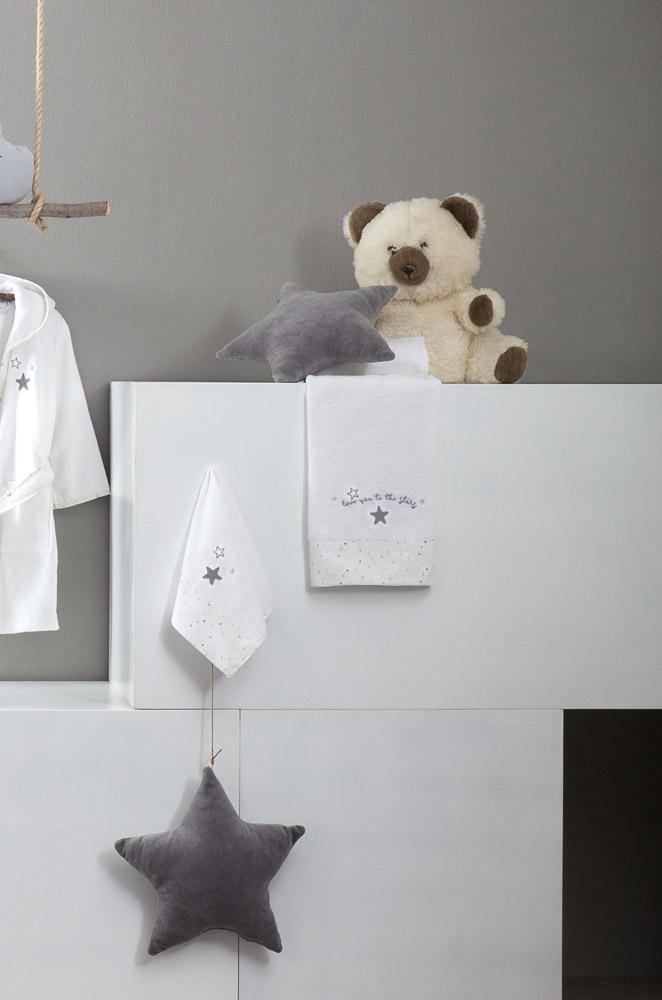 Σετ Πετσέτες (30×50 + 70×140) – Nima Baby Star