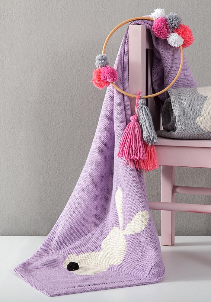 Κουβέρτα 75×110 Nima – Honey Bunny Lilac