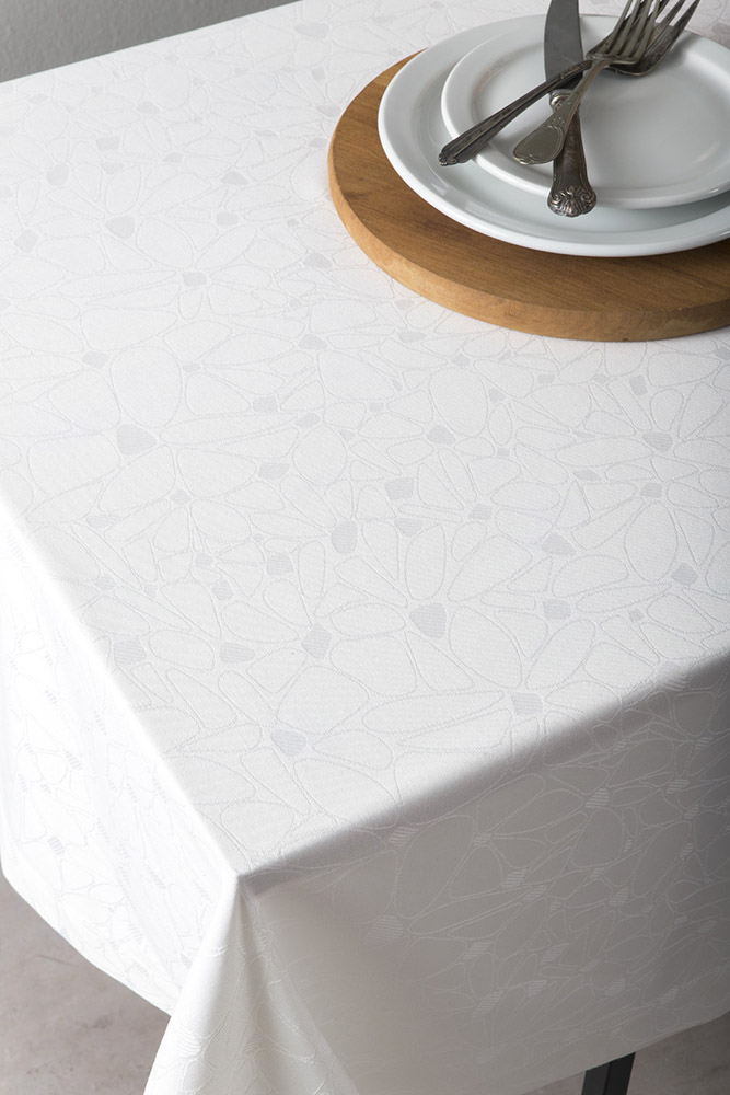 Τραπεζομάντηλο 165×310 Nima – Fleur Off White