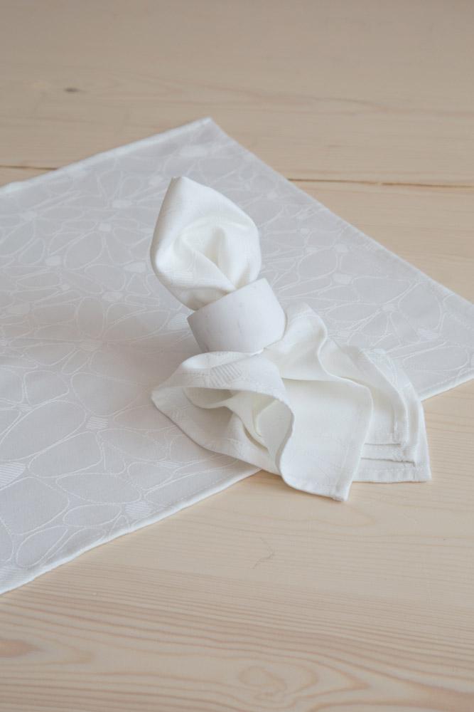 Τραβέρσα 50×165 Nima – Fleur Off White