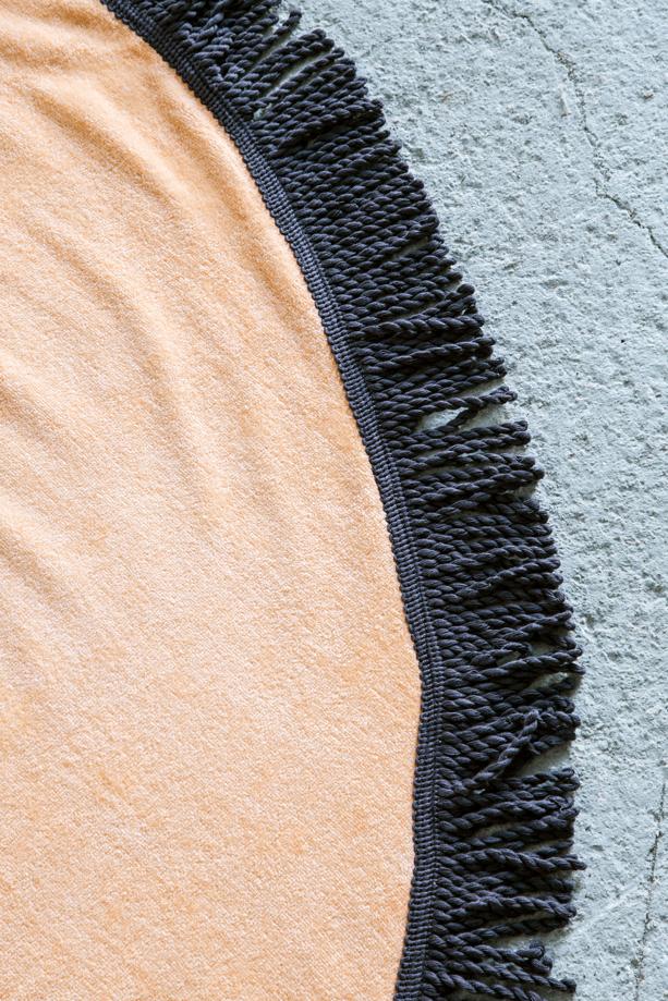 Πετσέτα Θαλάσσης Στρογγυλή R150 – Nima Vibe Salmon