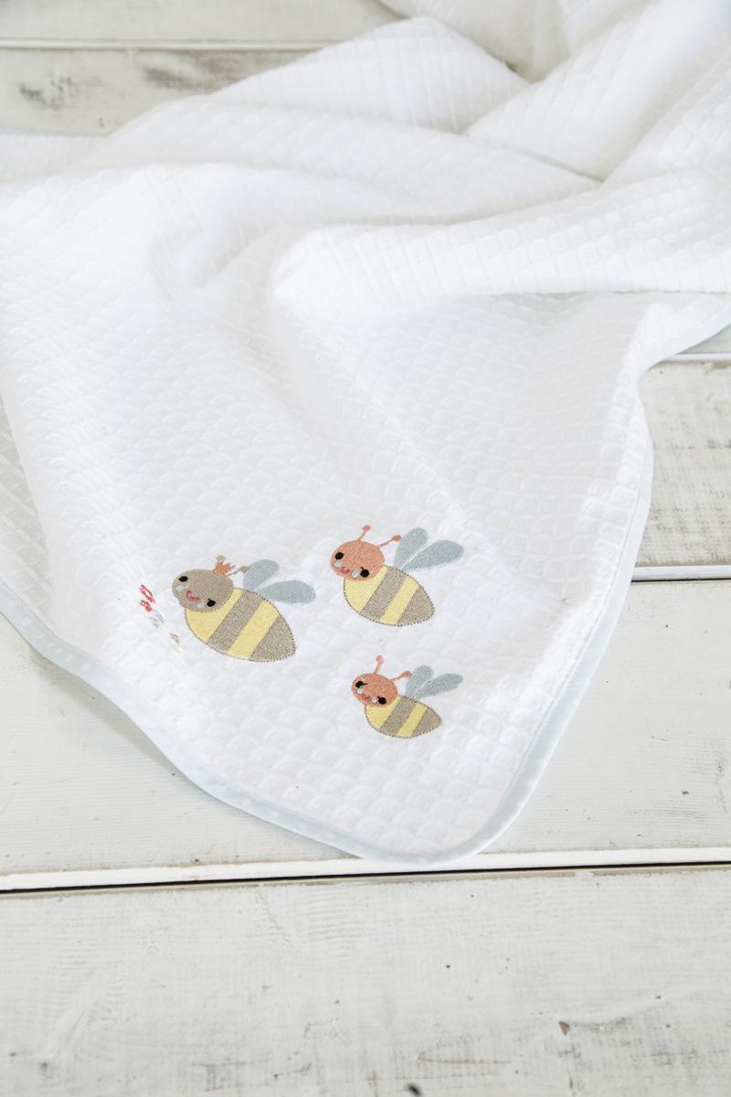 Κουβέρτα Πικέ Λίκνου 80×110 – Nima Yo-Yo